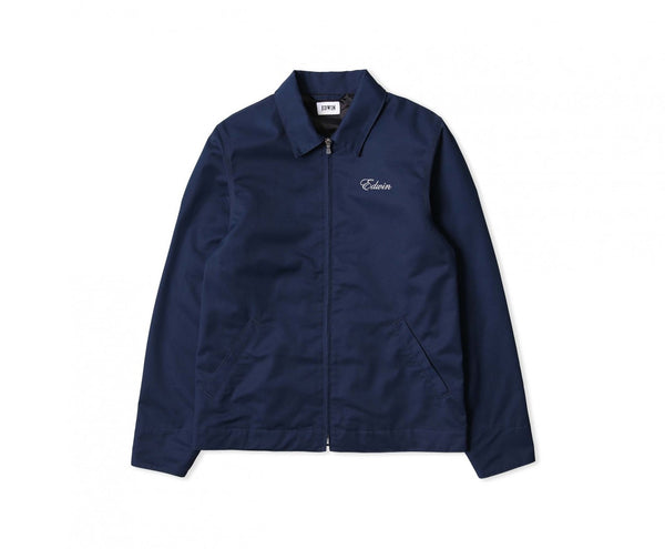 Edwin Europe Capitol Jacket - Raf Embroidered-Denim-Navy Selected Shop