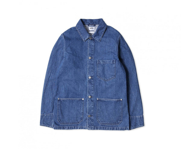 Edwin Europe Federal Jacket - Stone Bleached-Denim-Navy Selected Shop