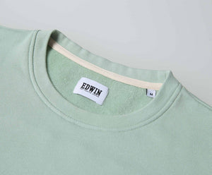 Edwin Europe Terry Tee - Mint-Denim-Navy Selected Shop