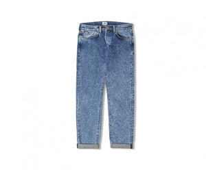 "Edwin Europe ED-45 Loose Tapered Jeans ""63 Rainbow Selvage Denim"" - Acid Wash-Denim-Navy Selected Shop"