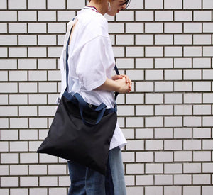 "Drifter Elementary Tote Bag ""Made in USA"" - Black #DF1615-Bag-Navy Selected Shop"