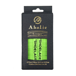 "Aholic ""Shoelaces"" Wording Shoelaces (文字鞋帶) - Green (綠)-Shoelaces-Navy Selected Shop"