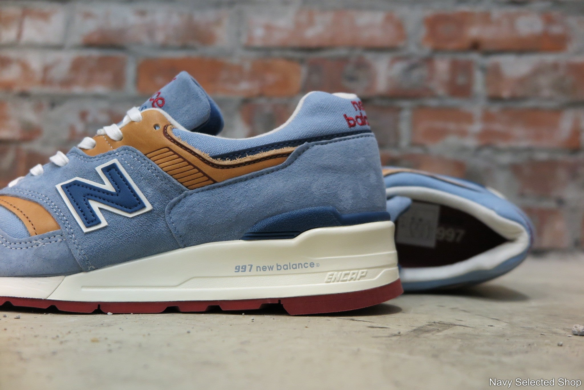 New Balance M997DOL Made in USA-Preorder Item-Navy Selected Shop