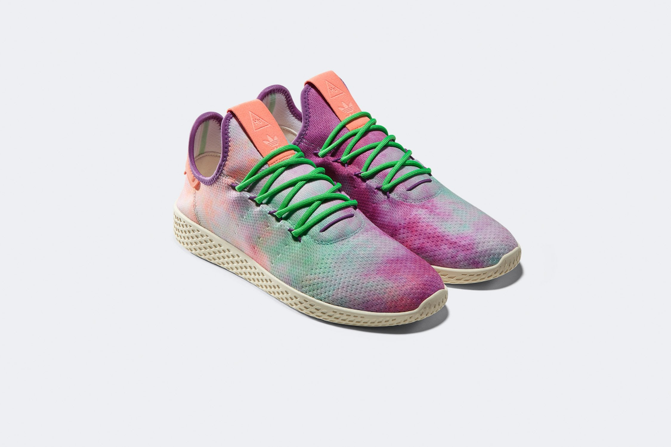 Pharrell Williams X adidas Tennis HU Holi - Chalk Coral/Supplier Colour #AC7366-Preorder Item-Navy Selected Shop