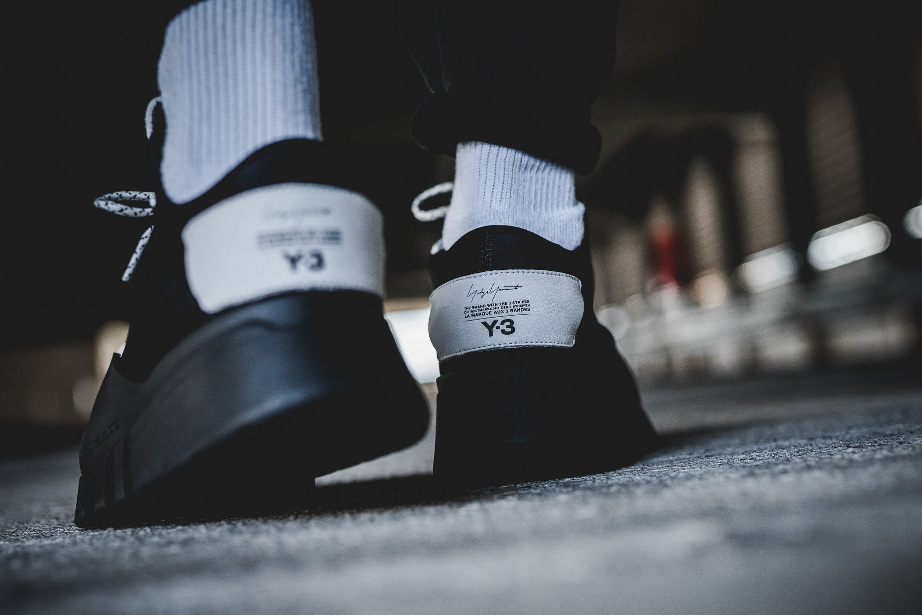 Y-3 Ayero - Core Black/Core Black #AC7202-Preorder Item-Navy Selected Shop