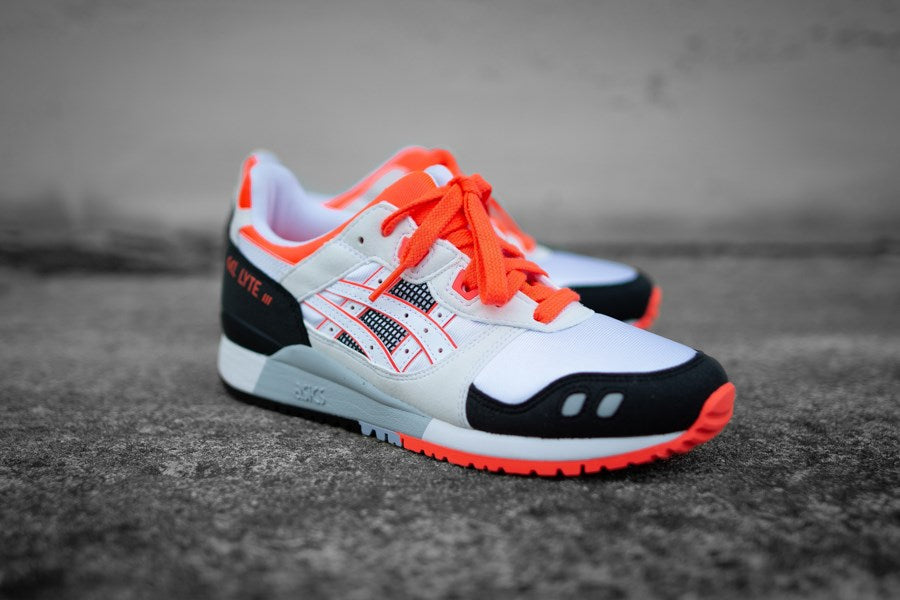 "Asics Gel Lyte III OG ""30th Anniversary"" - White/Flash Coral #1191A266-101-Preorder Item-Navy Selected Shop"