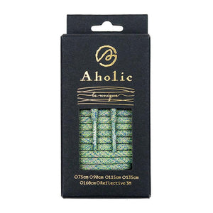 Aholic Multi-Color Shoelaces (迷彩混色鞋帶) - Green Camo (綠迷彩)-Shoelaces-Navy Selected Shop