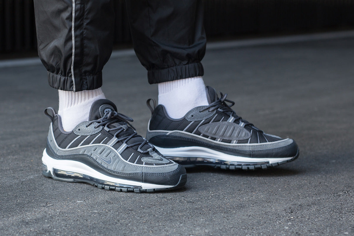 Nike Air Max 98 SE - Black/Anthracite/Dark Grey/White #AO9380-001-Preorder Item-Navy Selected Shop