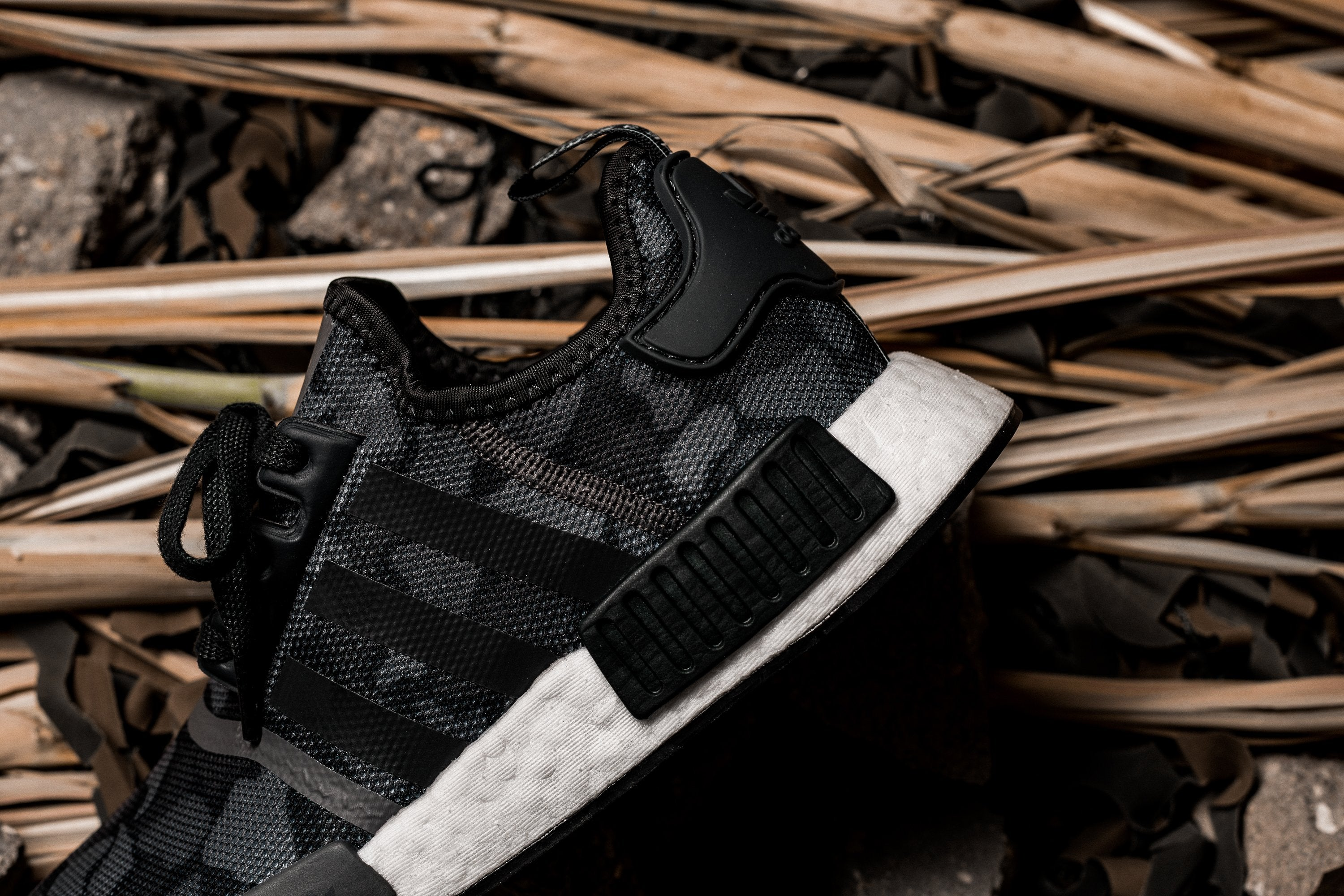 adidas NMD_R1 - Core Black/Grey Four/Grey Five #D96616-Preorder Item-Navy Selected Shop