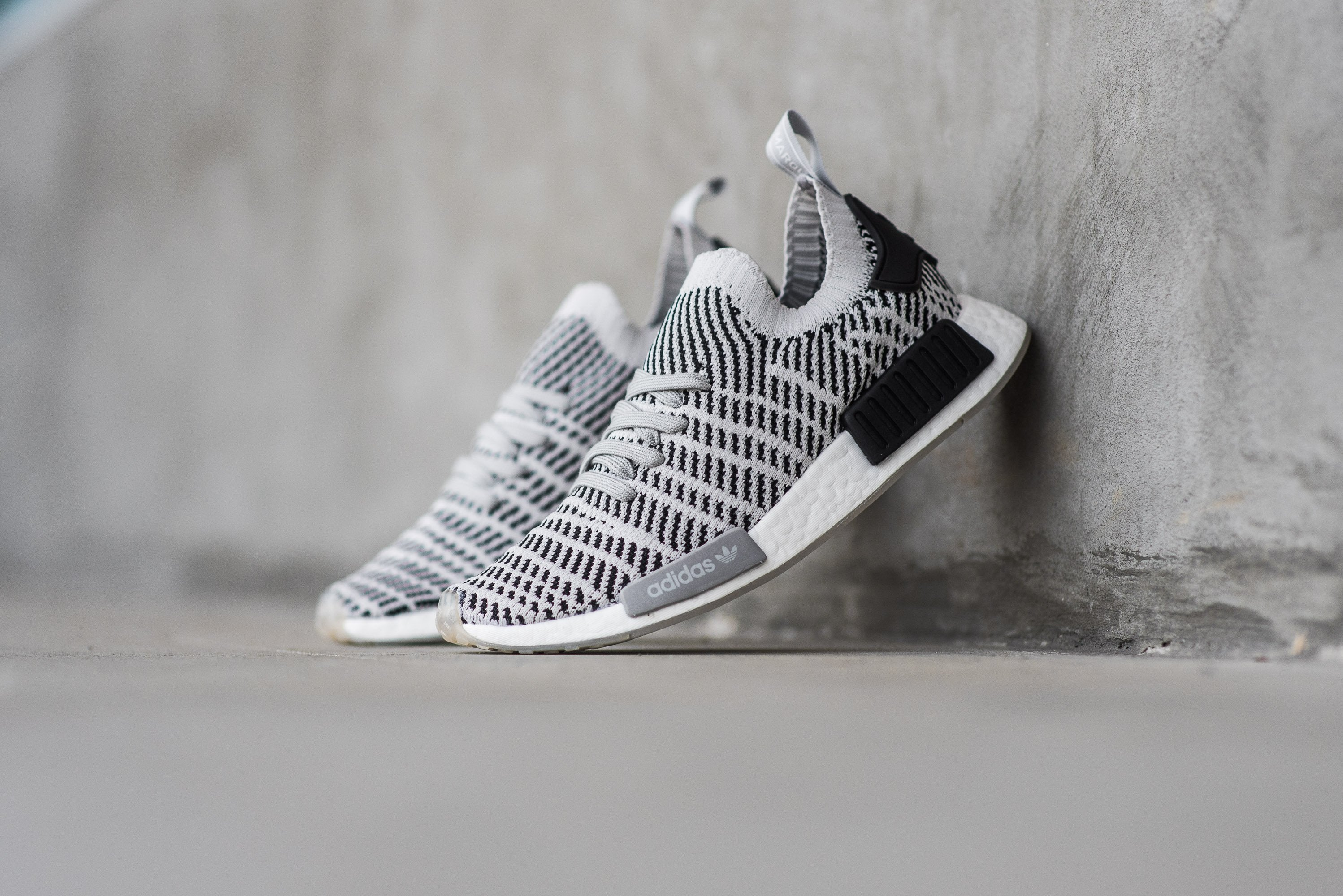 "adidas NMD_R1 Primeknit ""Stealth Pack"" - Grey Two/Grey One/Core Black #CQ2387-Preorder Item-Navy Selected Shop"