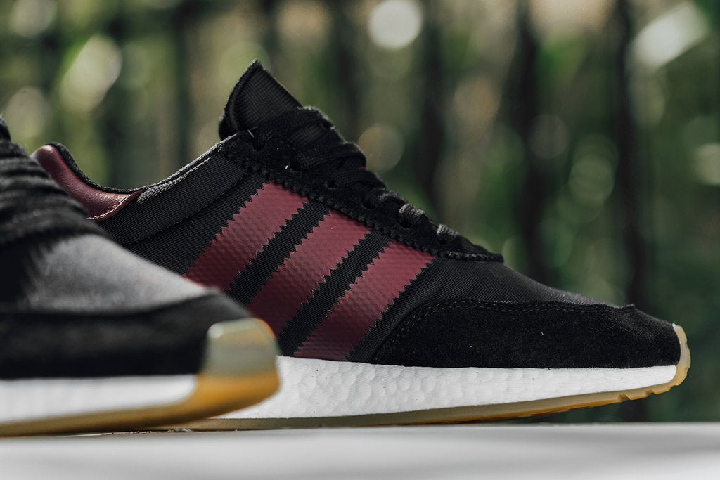 adidas I-5923 - Core Black/Collegiate Burgundy/Footwear White #B37946-Preorder Item-Navy Selected Shop