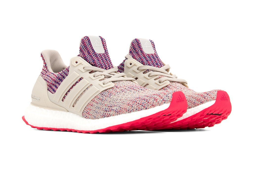 adidas WMNS Ultra Boost 4.0 - Clear Brown/Shock Red/Active Blue #F36122-Preorder Item-Navy Selected Shop