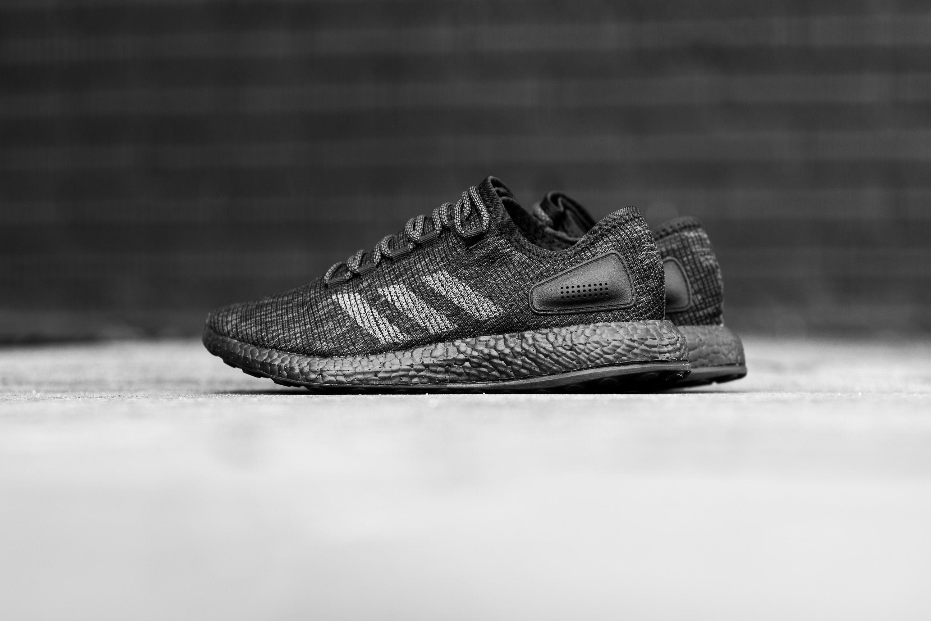 "adidas Pure Boost ""Triple Black"" - Core Black/DGH Solid Grey #BB6288-Preorder Item-Navy Selected Shop"