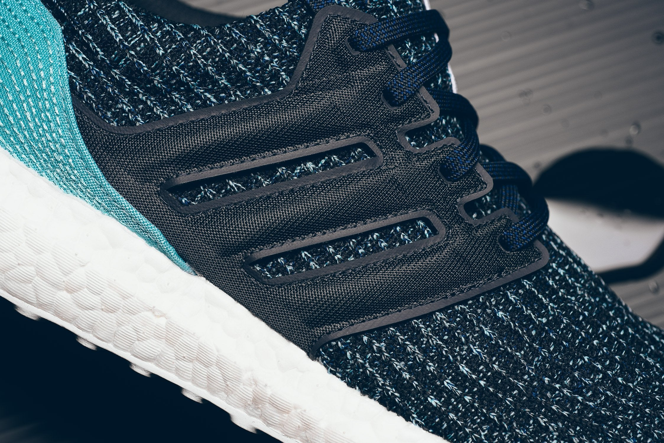 new products c4f64 130d2 Parley x adidas Ultra Boost 4.0 - Carbon/Blue Spirit #CG3673 ...
