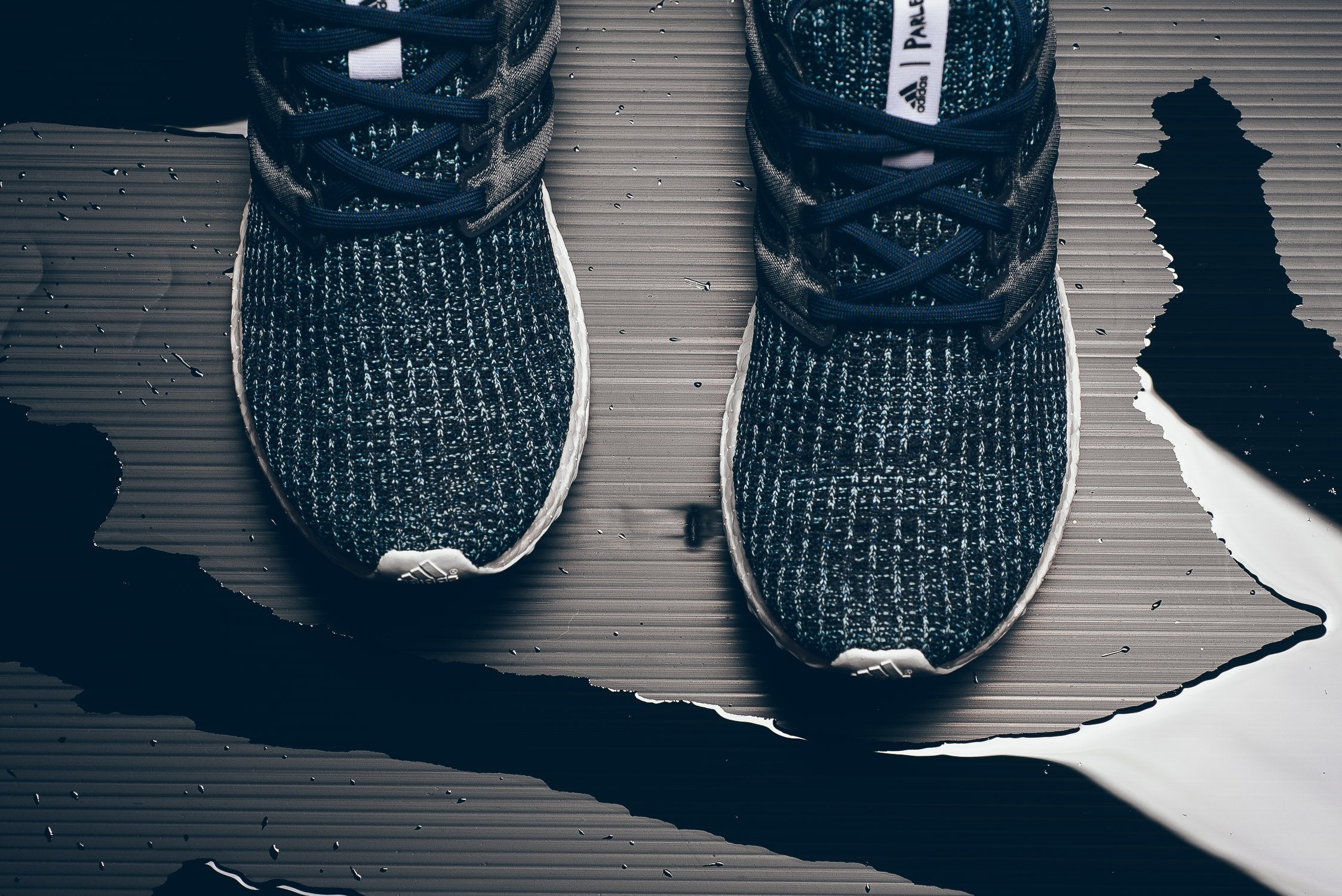 Parley X adidas Ultra Boost 4.0 - Carbon/Blue Spirit #CG3673-Preorder Item-Navy Selected Shop