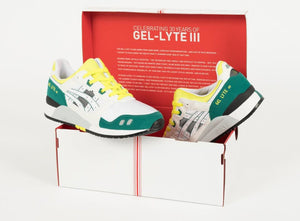 "Asics Gel Lyte III OG ""30th Anniversary"" - White/Yellow/Green/Black #1191A266-100-Preorder Item-Navy Selected Shop"