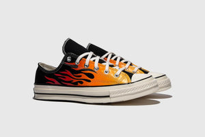 Converse Chuck 70 OX - Black/Enamel Red #167813C-Preorder Item-Navy Selected Shop