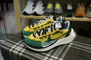 Sacai x Nike VaporWaffle - Tour Yellow/Gorge Green/Sail #CV1363-700-Sneakers-Navy Selected Shop