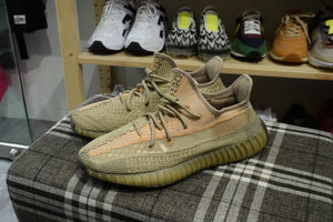 adidas Yeezy Boost 350 V2 - Sand Taupe #FZ5240-Sneakers-Navy Selected Shop