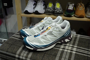 Salomon Lab XT-6 ADV - Mineral Gray/Mallard Blue/White #410863-Preorder Item-Navy Selected Shop