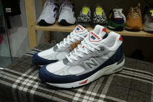 New Balance M991GWR Made in England-Sneakers-Navy Selected Shop