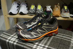 Salomon Lab XT-6 ADV - Shale/Chocolate Plum/Red Orange #412636-Preorder Item-Navy Selected Shop