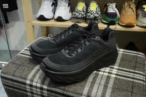 Hoka One One Bondi 6 - Black #1019269-BBLC-Preorder Item-Navy Selected Shop