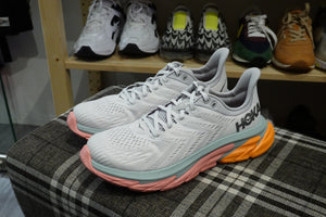 Hoka One One Clifton Edge - Nimbus Cloud/Lunar Rock #1110510-NCLR-Preorder Item-Navy Selected Shop