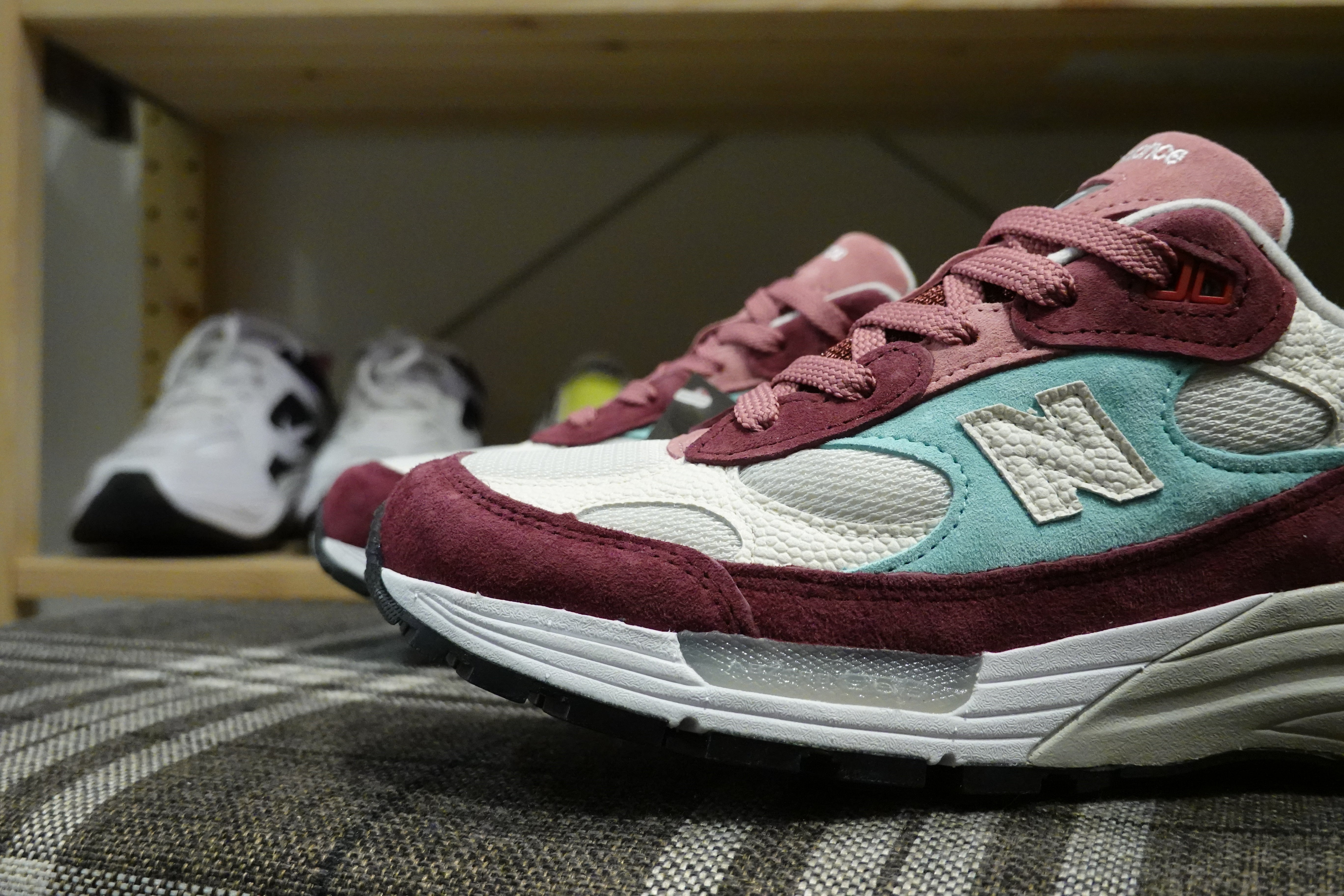 "Kith x New Balance M992KB ""Loyalty Program Exclusive"" Made in USA-Sneakers-Navy Selected Shop"