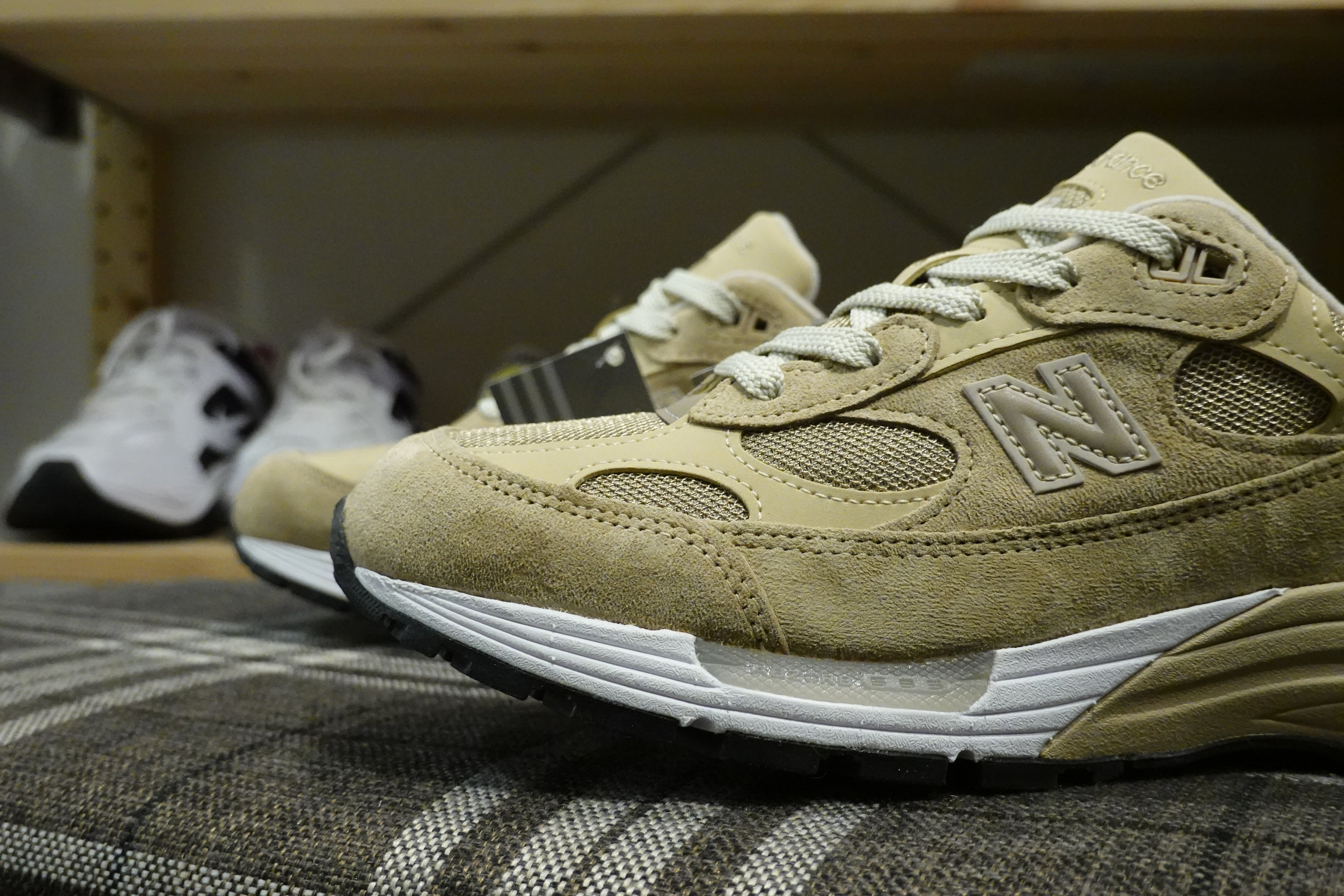 New Balance M992TN Made in USA-Sneakers-Navy Selected Shop