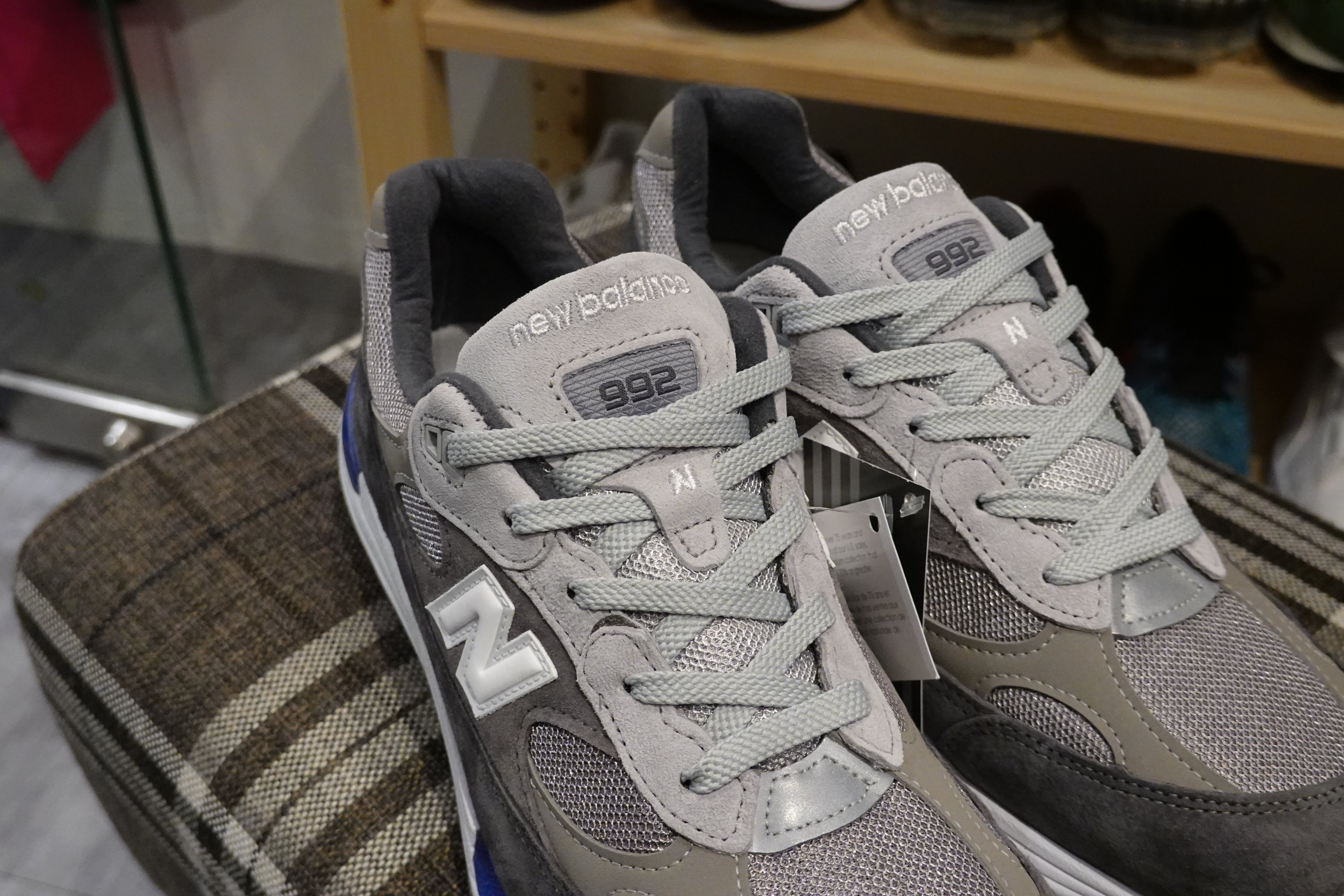 New Balance M992AG Made in USA-Sneakers-Navy Selected Shop