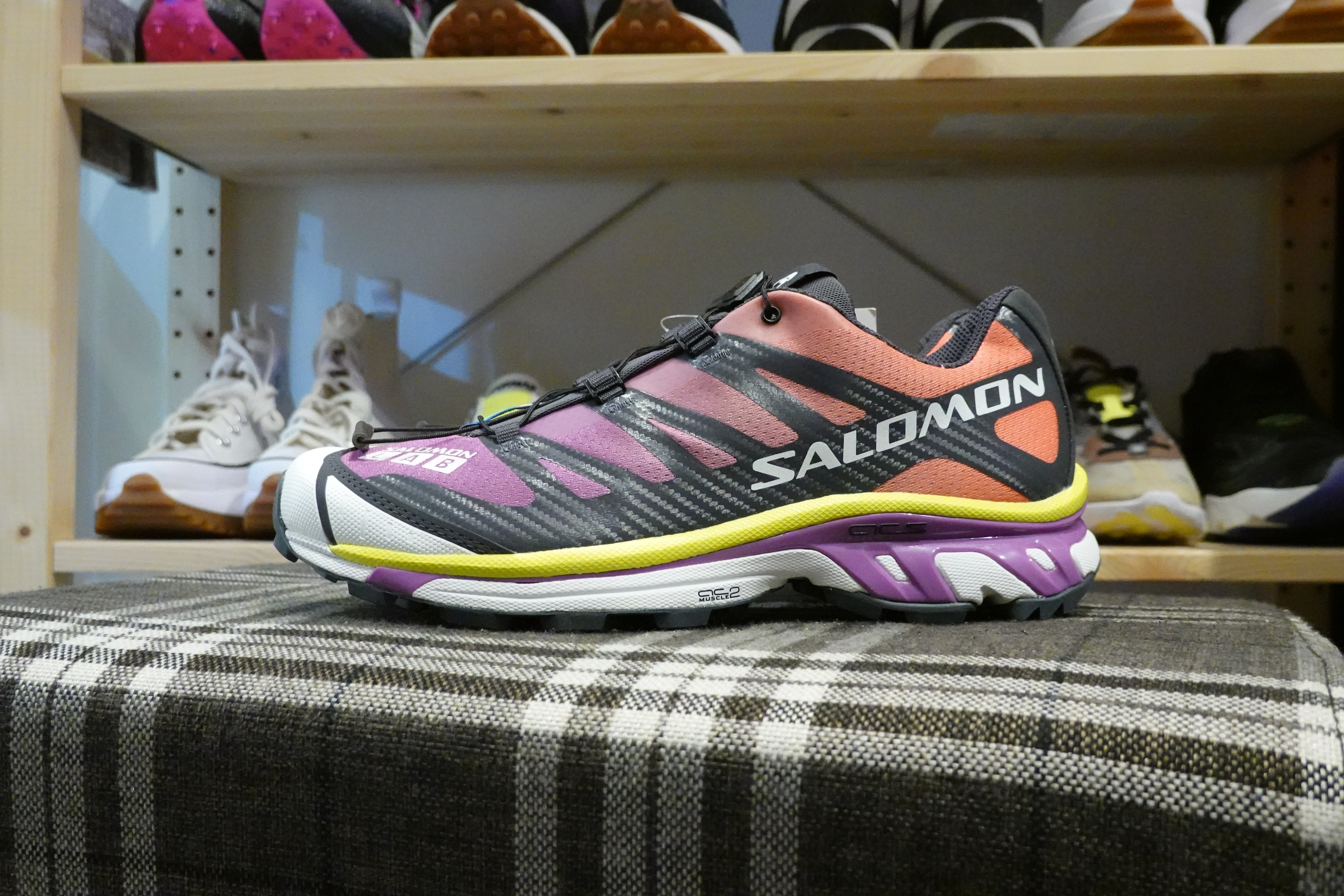 Salomon Lab XT-4 ADV - Mulberry/Ebony/White #413953-Preorder Item-Navy Selected Shop