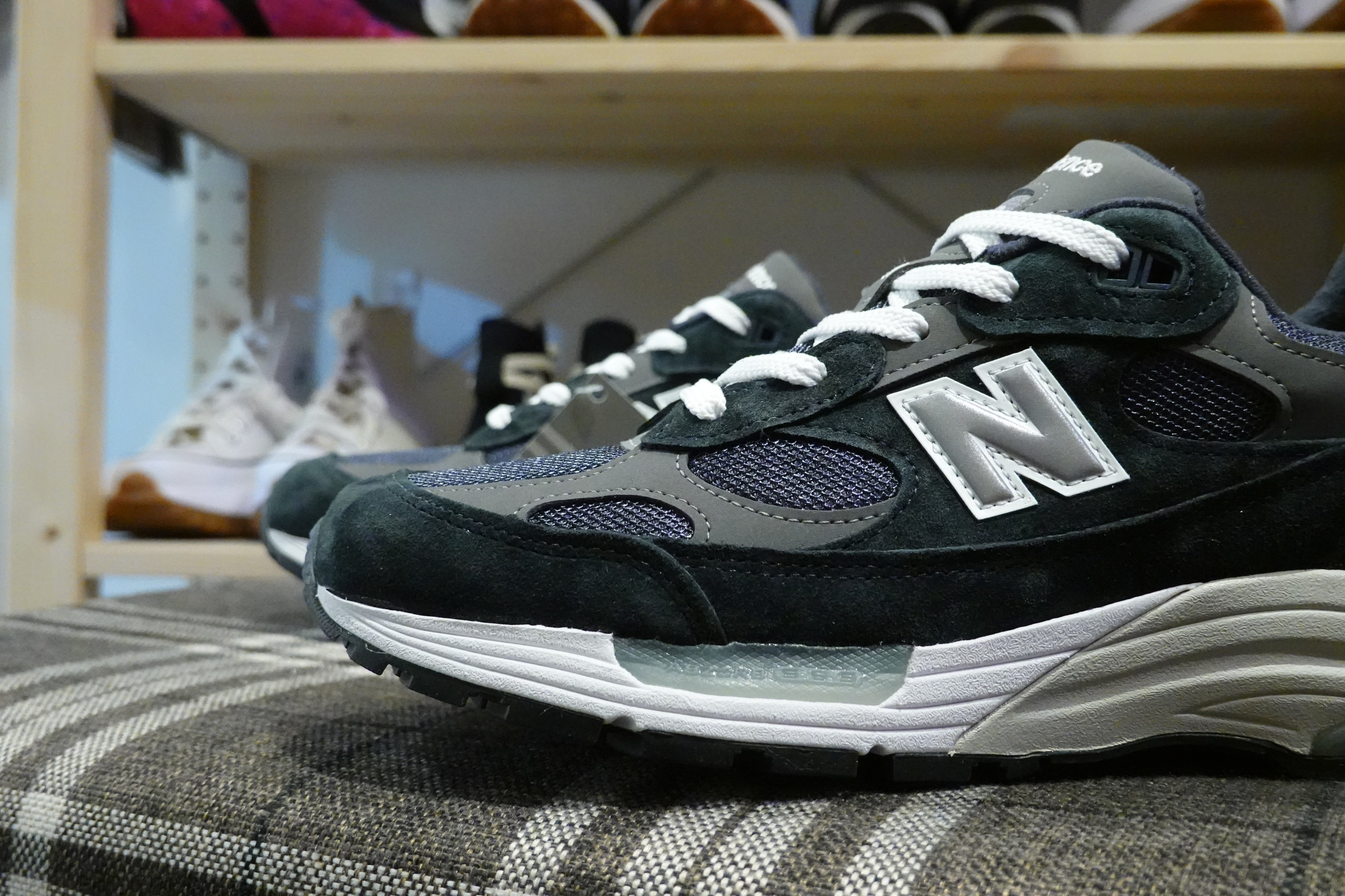 New Balance M992GG Made in USA-Sneakers-Navy Selected Shop