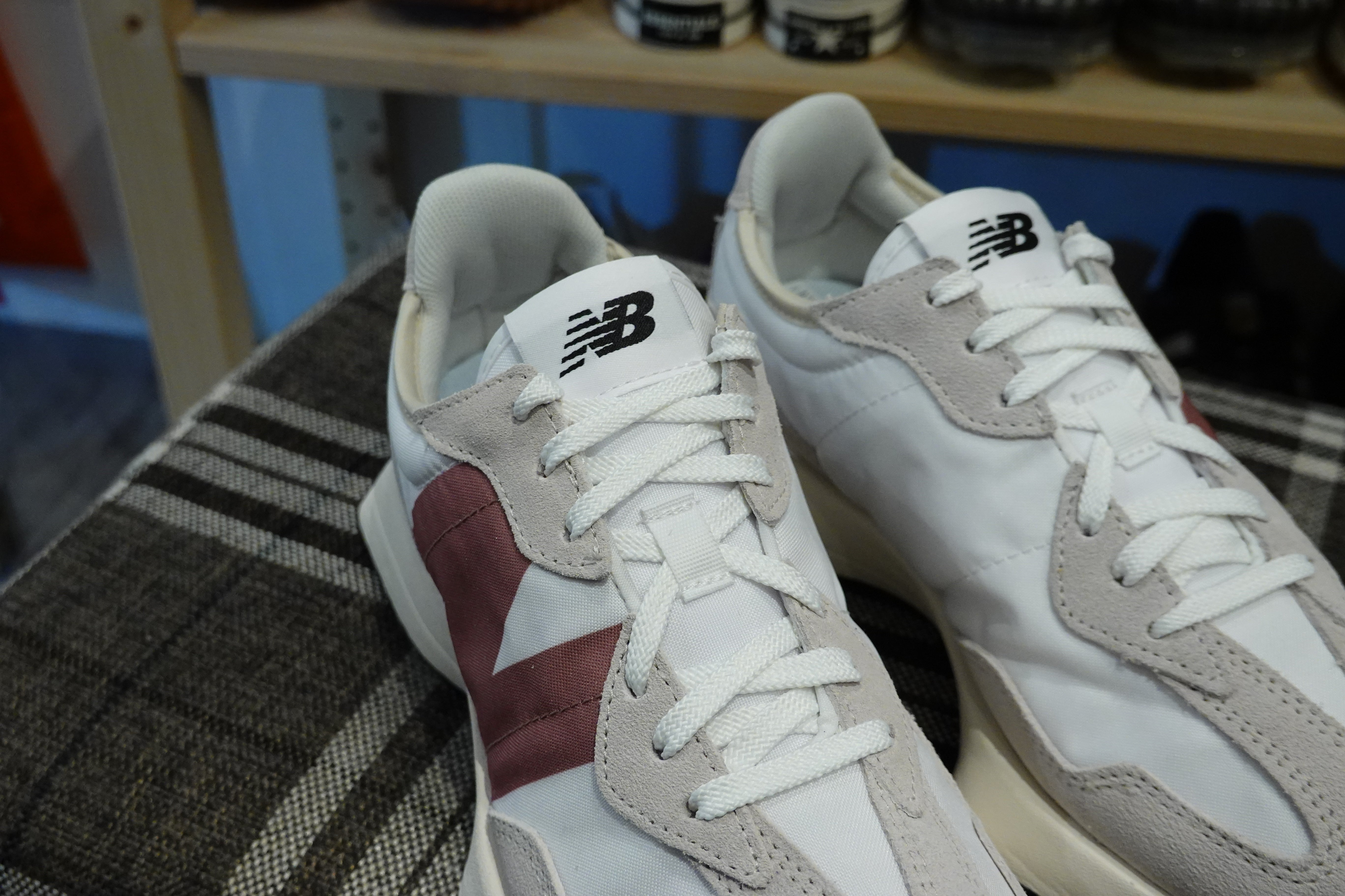 New Balance WS327CD-Sneakers-Navy Selected Shop