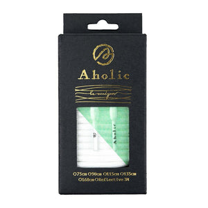 "Aholic Original Round Shoelaces ""Glow In The Dark"" (經典圓帶鞋帶) - White (夜光白)-Shoelaces-Navy Selected Shop"