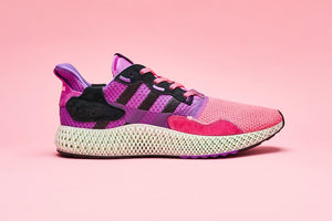 Sneakersnstuff x adidas Consortium ZX 4000 4D - Pink/Purple/Black #FV5525-Preorder Item-Navy Selected Shop