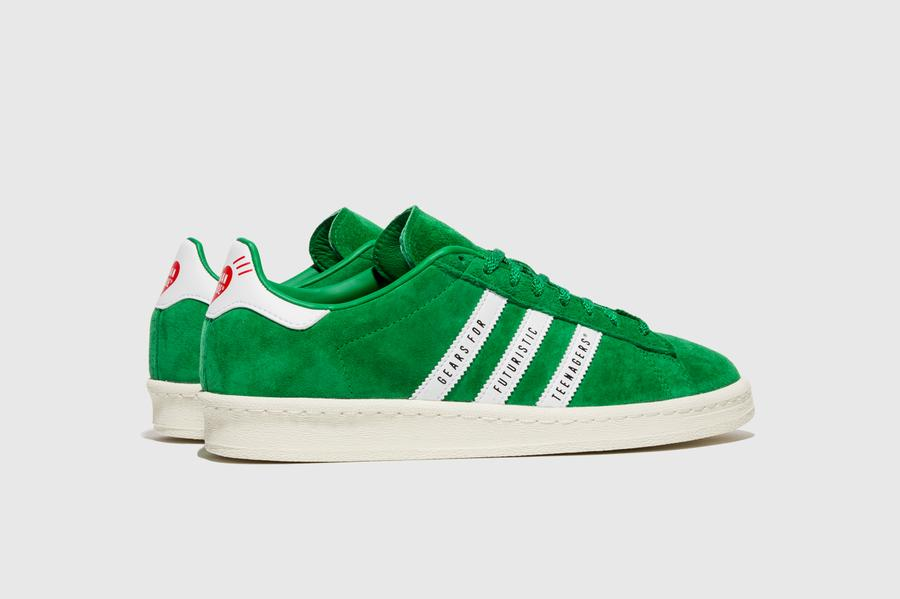 Human Made x adidas Campus - Green/Footwear White/Off White #FY0732-Preorder Item-Navy Selected Shop