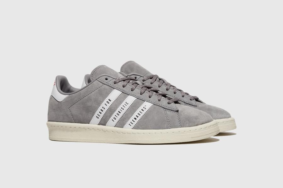 Human Made x adidas Campus - Light Onix/Footwear White/Off White #FY0733-Preorder Item-Navy Selected Shop