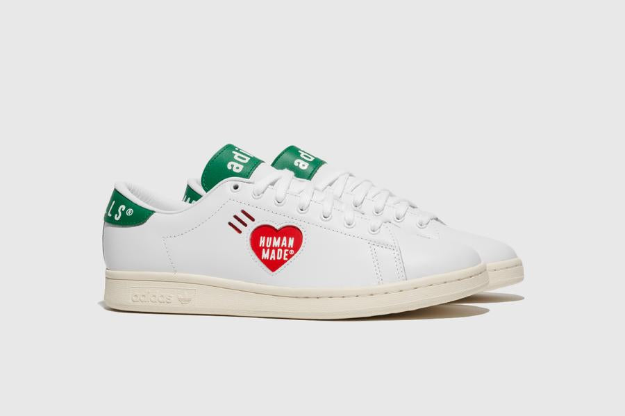 Human Made x adidas Stan Smith - Footwear White/Off White/Gold Metallic #FY0734-Preorder Item-Navy Selected Shop