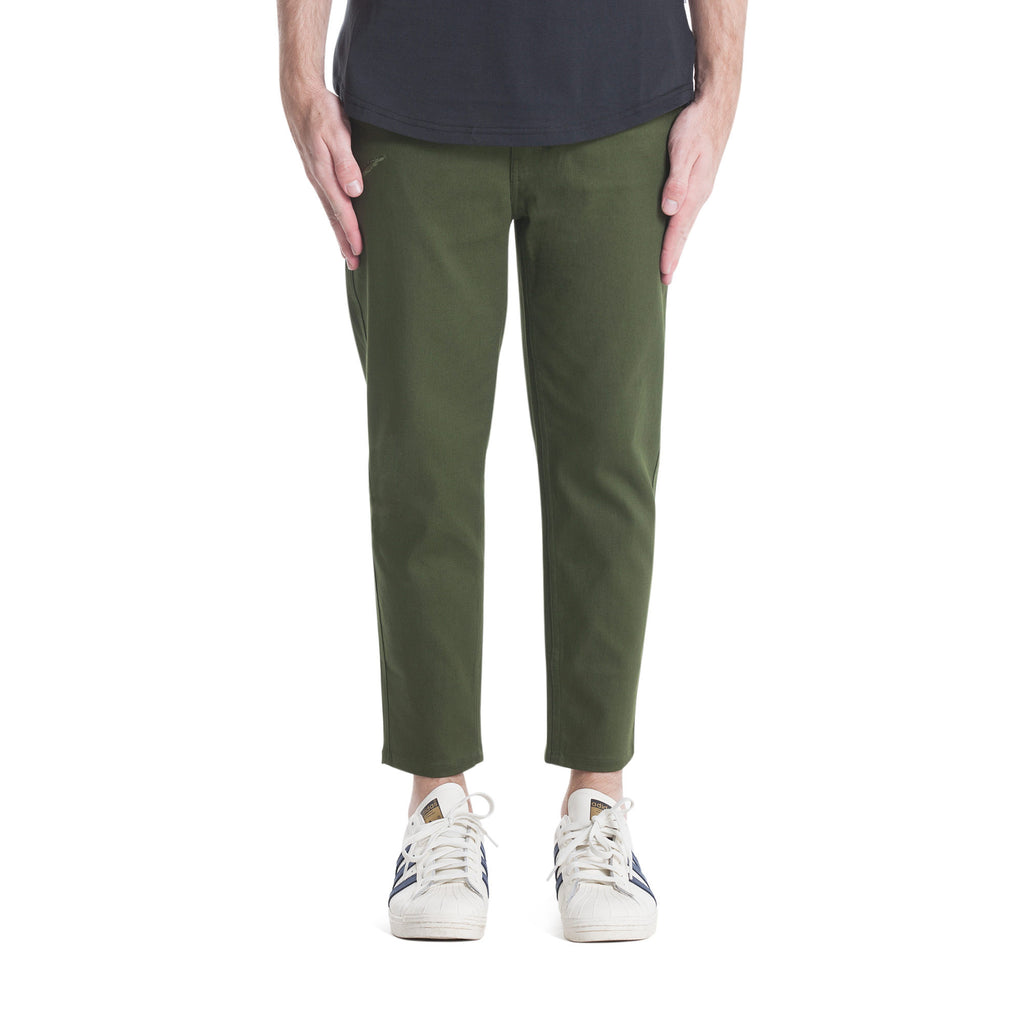 Publish Index Ankle Pants - Olive-Apparels-Navy Selected Shop