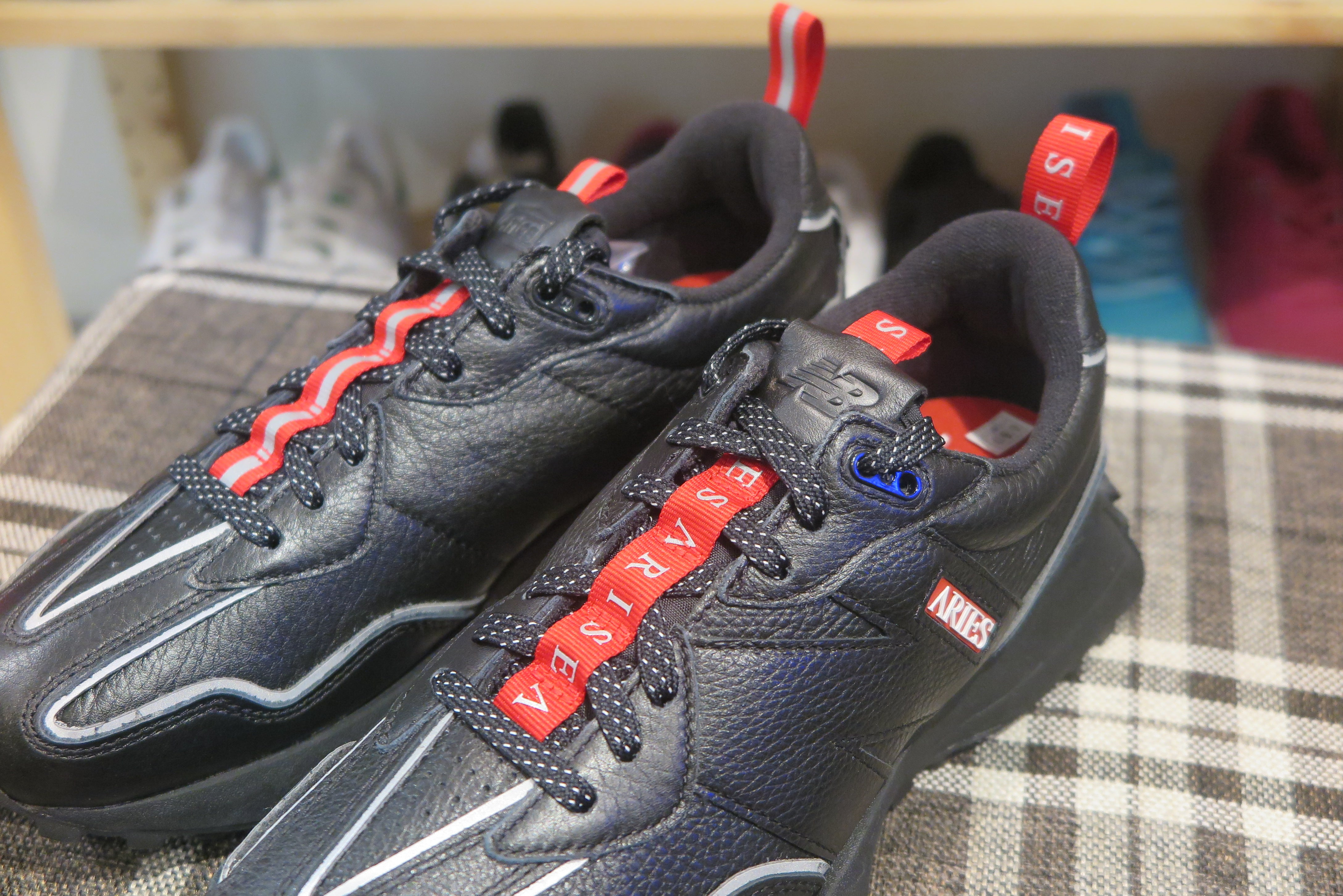 Aries x New Balance MS327AIR-Sneakers-Navy Selected Shop