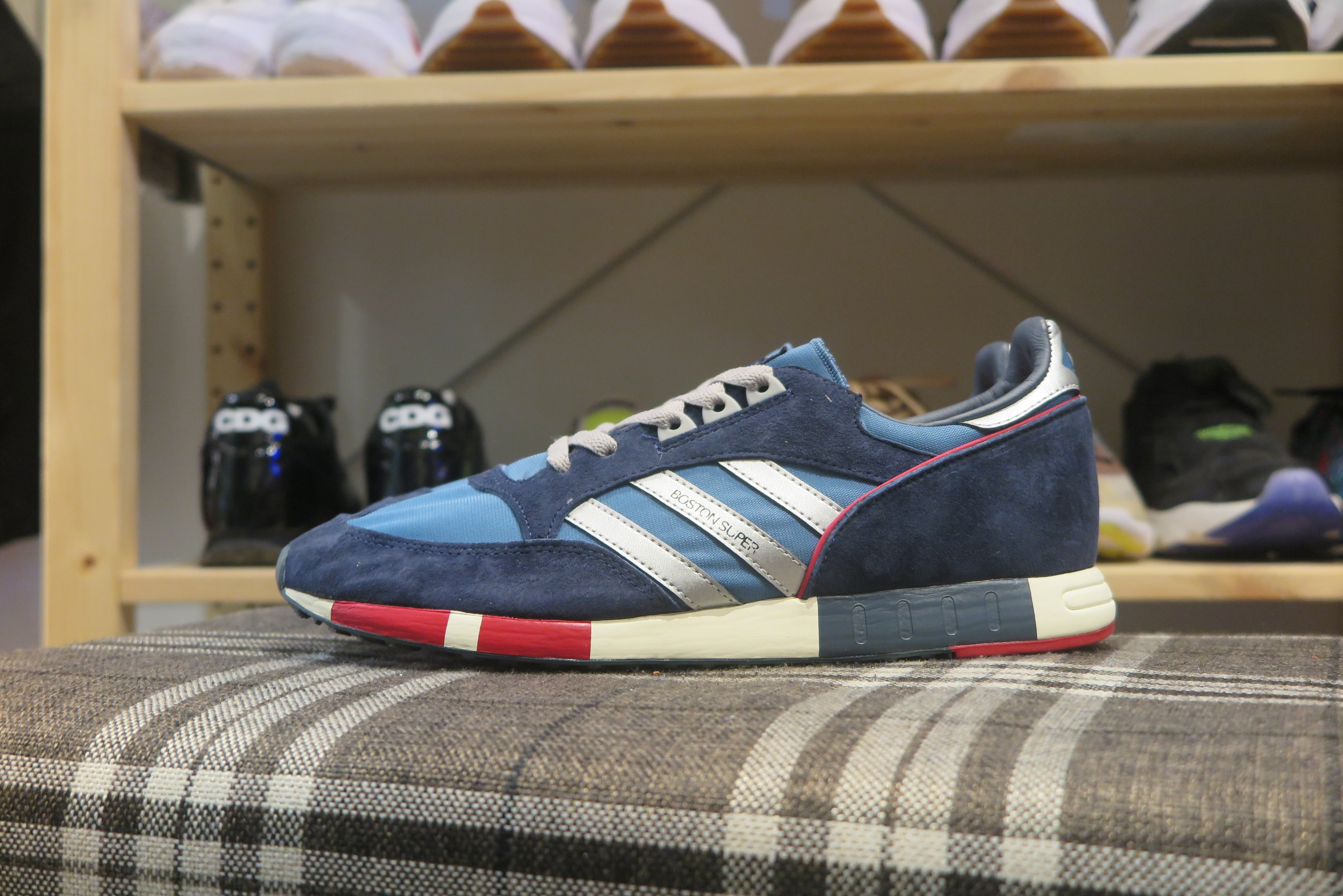adidas Boston Super - St Stow/Silver Metallic/St Dark Shadow #M25419-Preorder Item-Navy Selected Shop