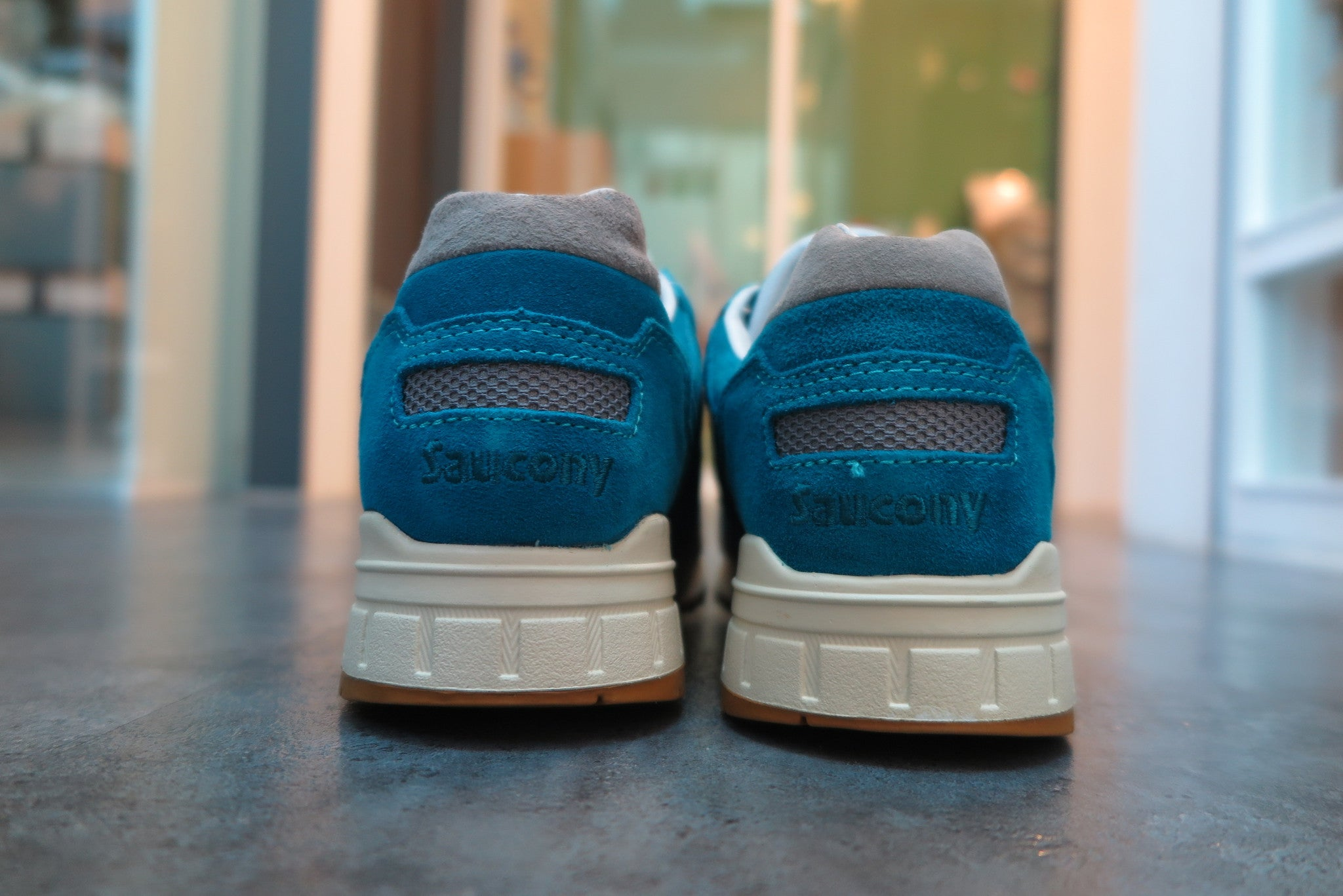 "Bodega X Saucony Elite Shadow 5000 ""Reissue"" - Teal/Grey #S70045-2-Preorder Item-Navy Selected Shop"