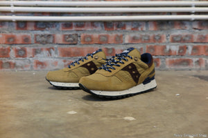 Penfield x Saucony Shadow Original '60/40 Pack' in Tan/Navy #S70171-1-Sneakers-Navy Selected Shop