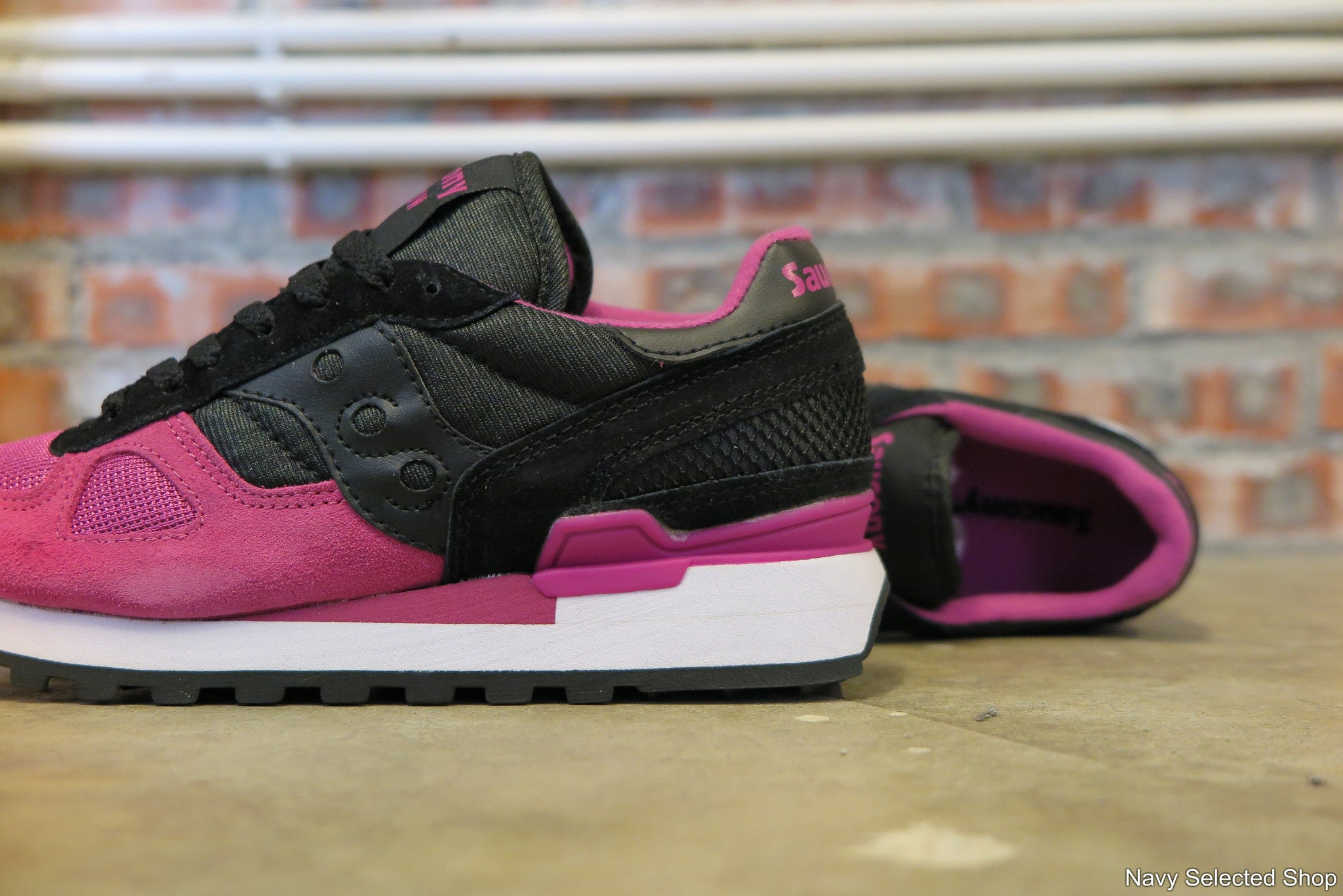 "Saucony WMNS Shadow Original ""Cavity Pack"" - Black Razz #S1108-565-Sneakers-Navy Selected Shop"
