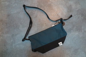 "Drifter Are Way Pouch Medium ""Made in USA"" - Blue/Navy #DF1270-Bag-Navy Selected Shop"