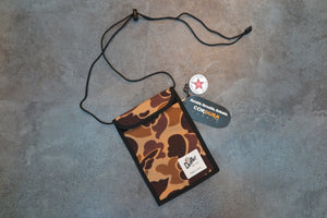 "Drifter Neck Pouch ""Made in USA"" - WW2 Autumn Camo #DF0240-Bag-Navy Selected Shop"