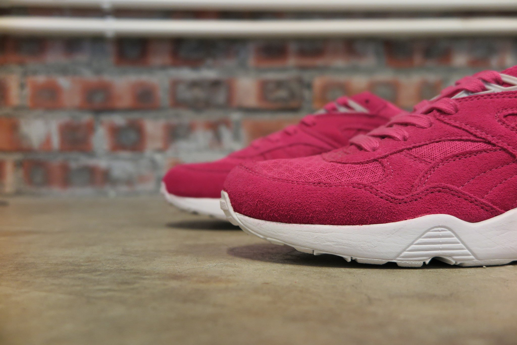 Puma R698 Mesh Evolution - Beetroot #357465-02-Sneakers-Navy Selected Shop