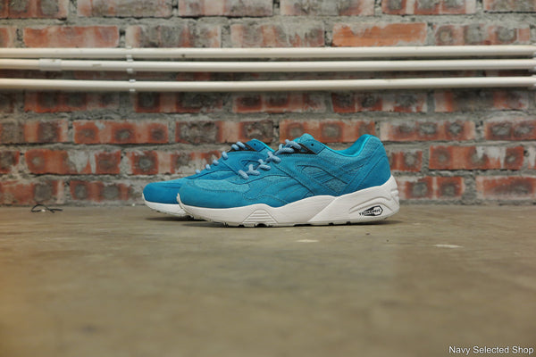 Puma R698 Mesh Evolution in Bluebird #357465-01-Sneakers-Navy Selected Shop