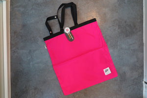 "Drifter Fold Away Tote ""Made in USA"" - Hot Pink #DF1600-Bag-Navy Selected Shop"